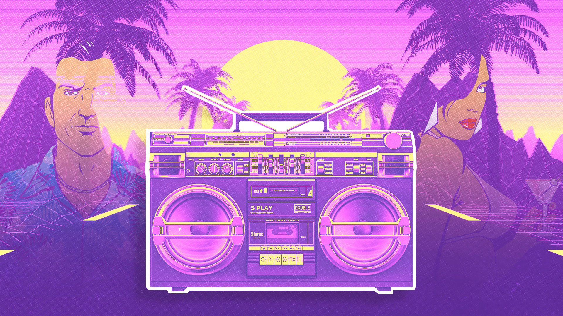 Did Grand Theft Auto Vice City Invent Vaporwave At T